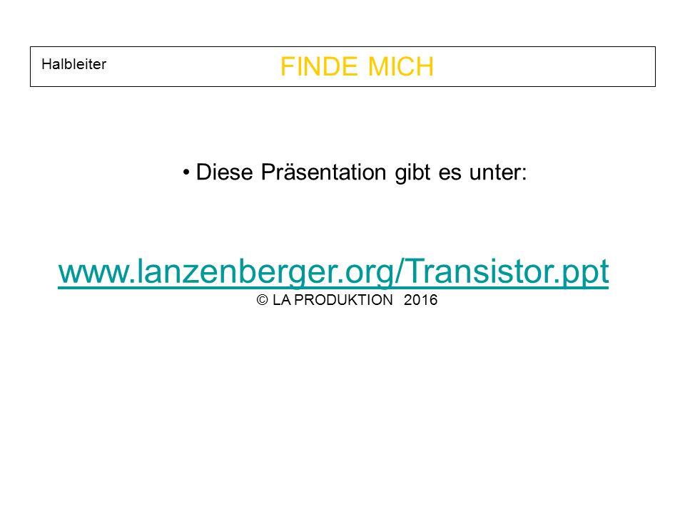 www.lanzenberger.org/Transistor.ppt FINDE MICH