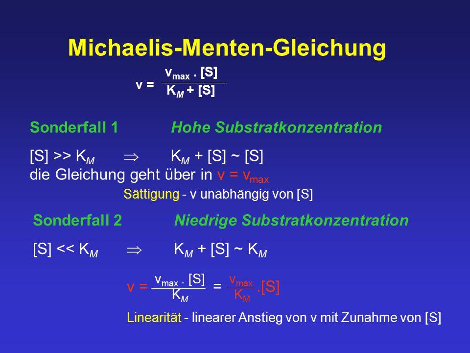 Michaelis-Menten-Gleichung