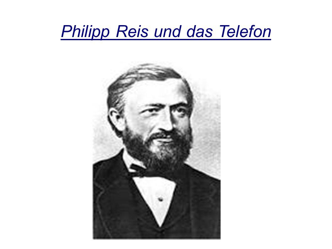 Philipp Reis und das Telefon