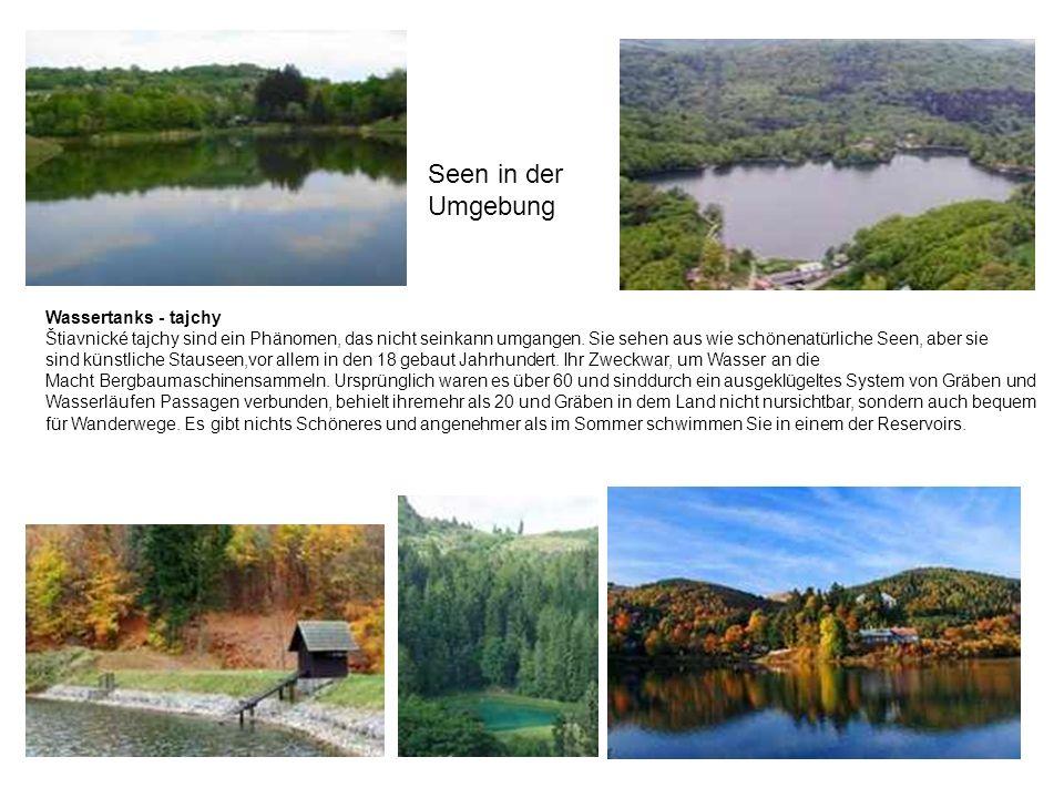 Seen in der Umgebung.