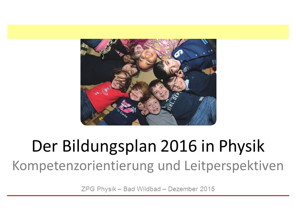 ZPG Physik – Bad Wildbad – Dezember 2015