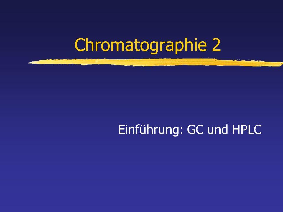 Einführung: GC und HPLC