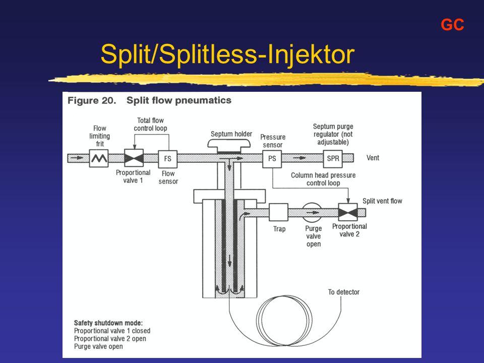 Split/Splitless-Injektor
