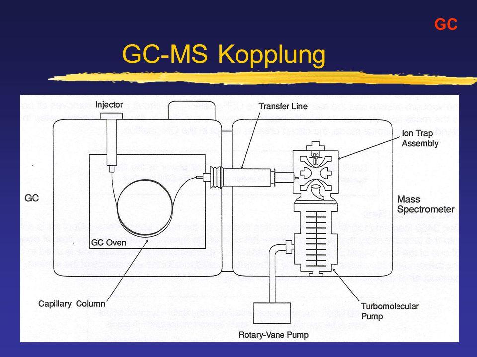 GC-MS Kopplung GC