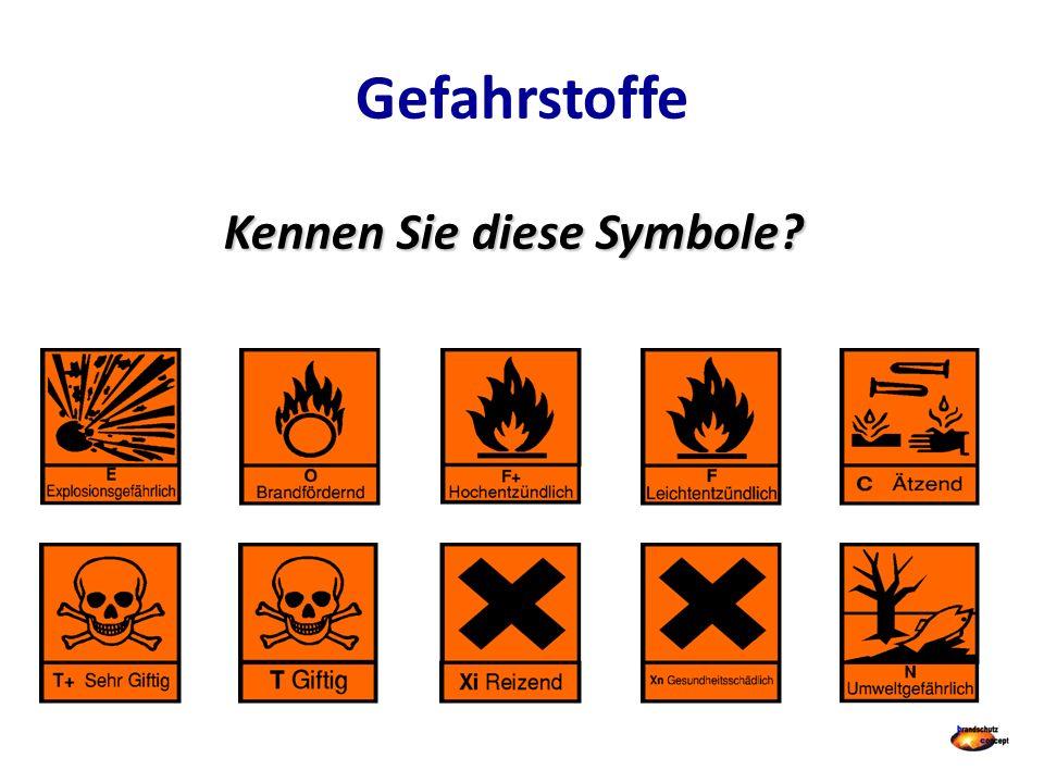 Kennen Sie diese Symbole