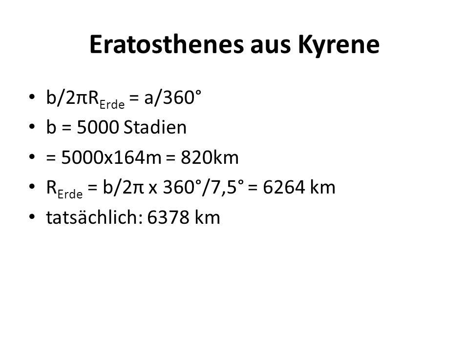 Eratosthenes aus Kyrene