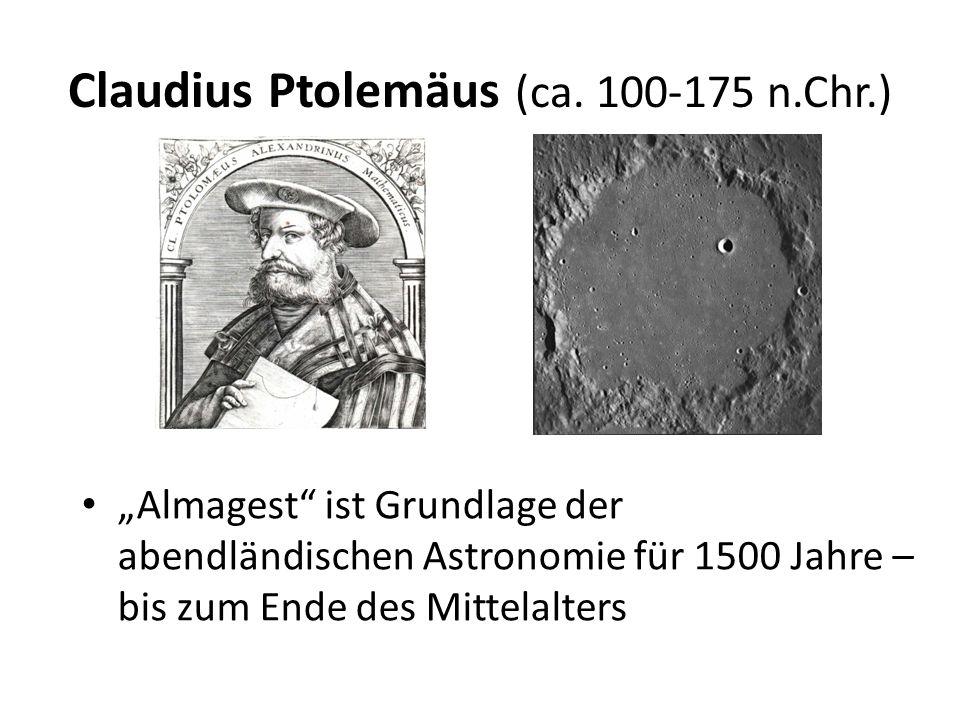 Claudius Ptolemäus (ca. 100-175 n.Chr.)