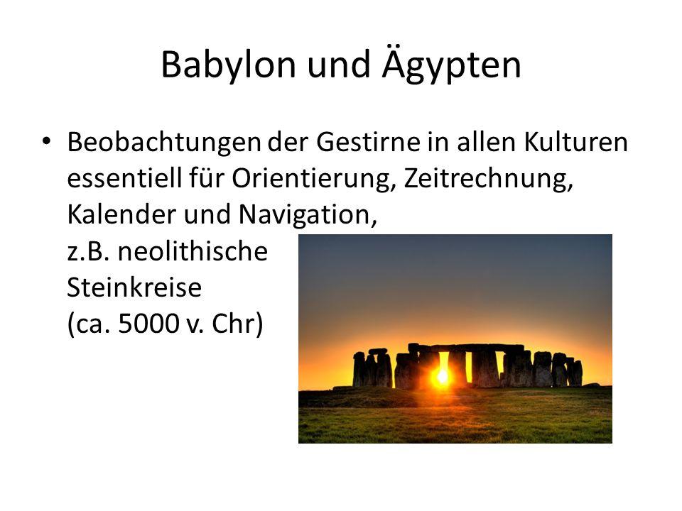 Babylon und Ägypten