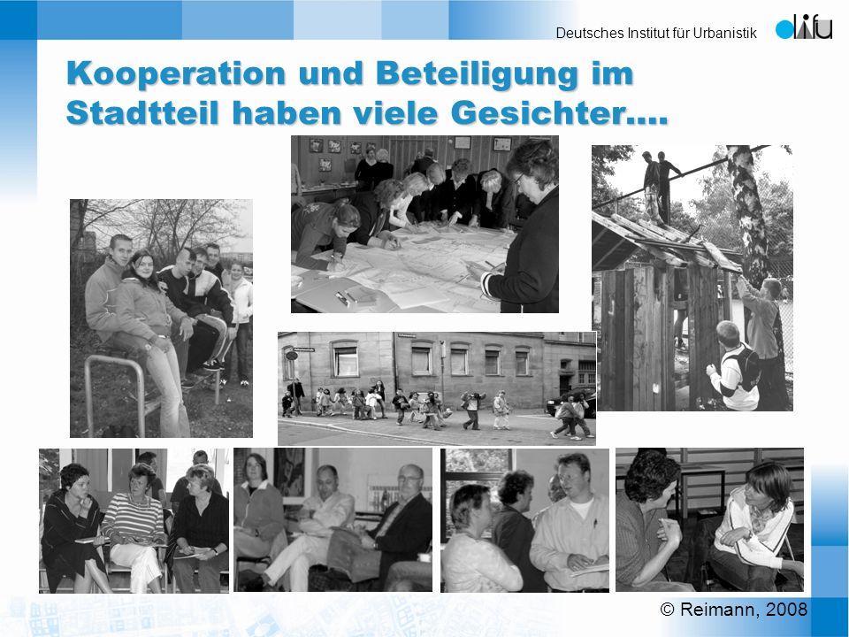 Kooperation und Beteiligung im Stadtteil haben viele Gesichter….