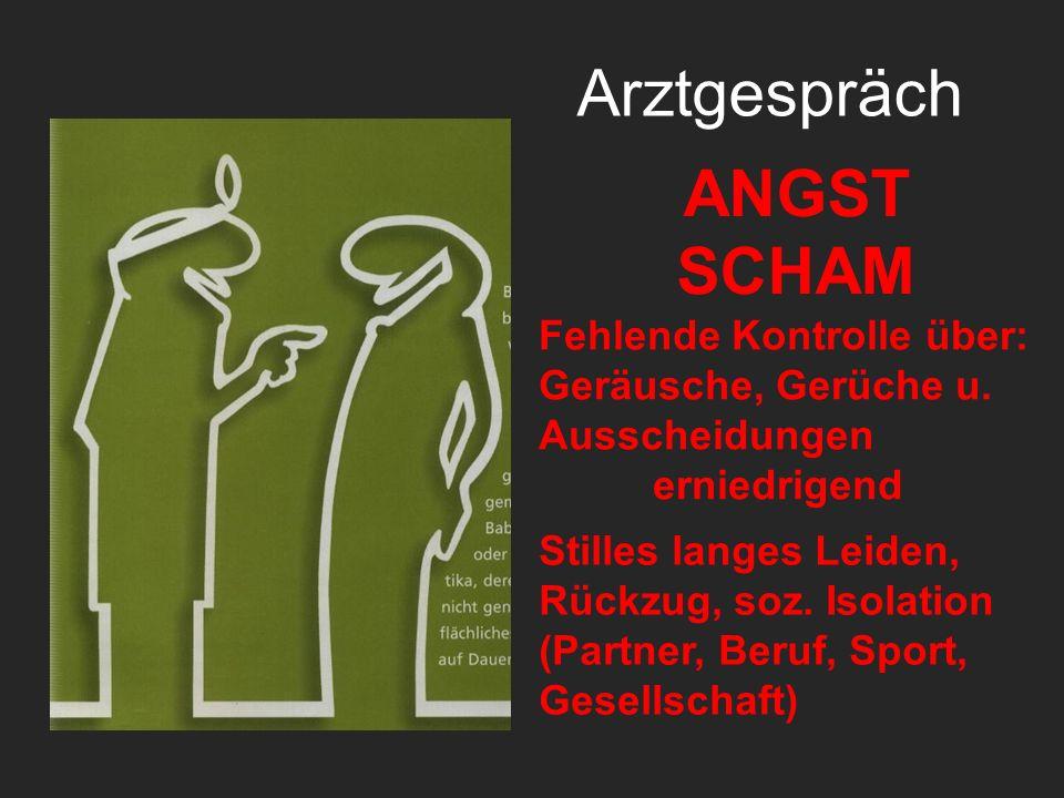 Arztgespräch ANGST SCHAM