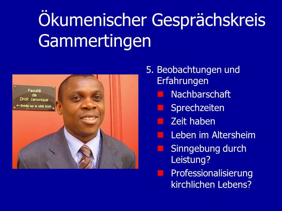Ökumenischer Gesprächskreis Gammertingen