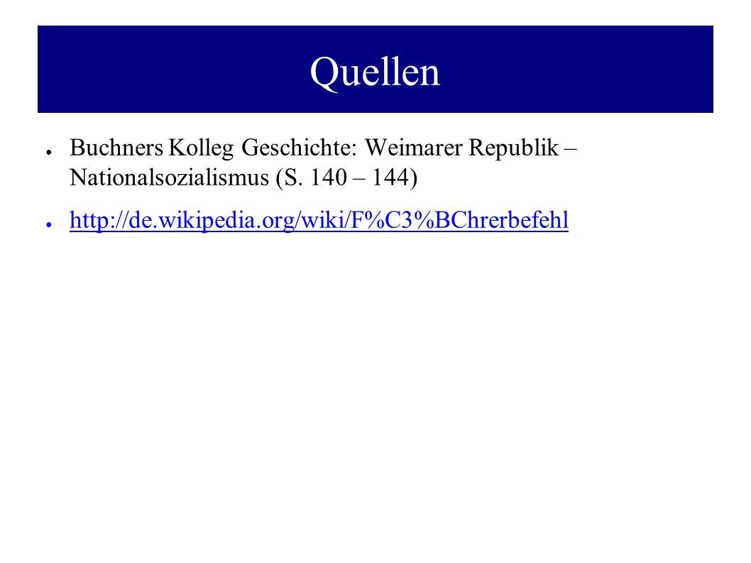 Quellen Buchners Kolleg Geschichte: Weimarer Republik – Nationalsozialismus (S.