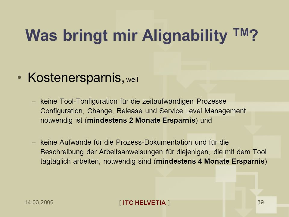 Was bringt mir Alignability TM