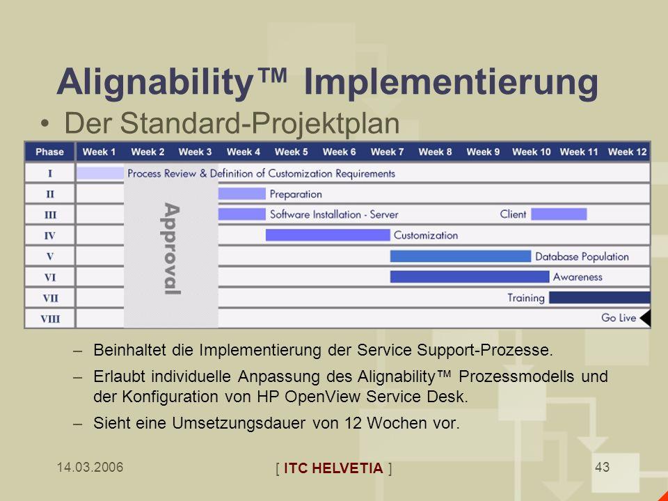 Alignability™ Implementierung