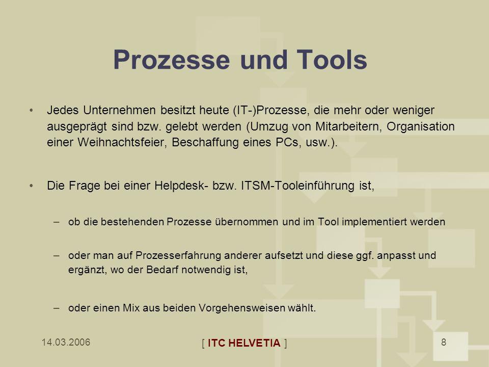 Prozesse und Tools