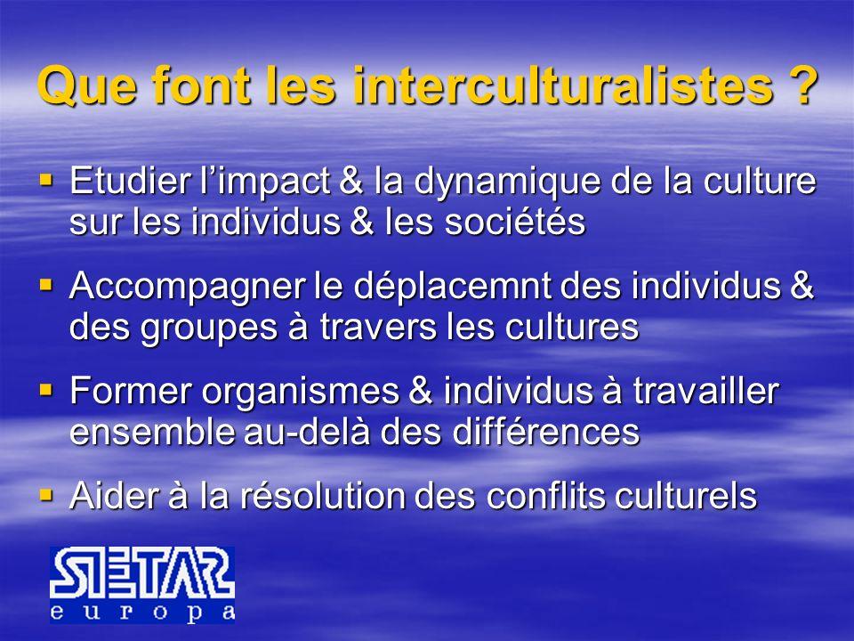 Que font les interculturalistes