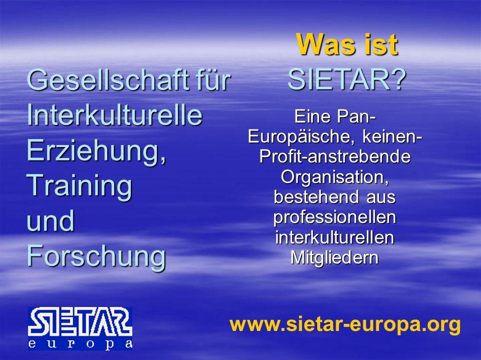 Gesellschaft für Interkulturelle Erziehung, Training und Forschung