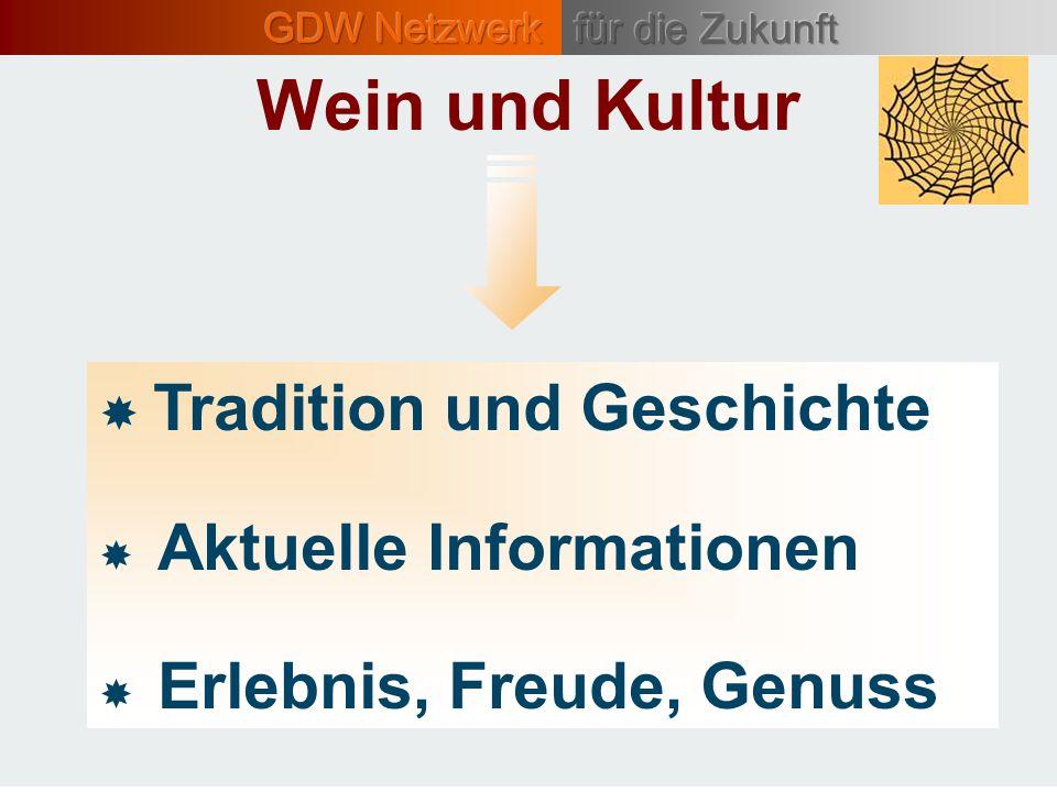 Wein und Kultur  Tradition und Geschichte  Aktuelle Informationen