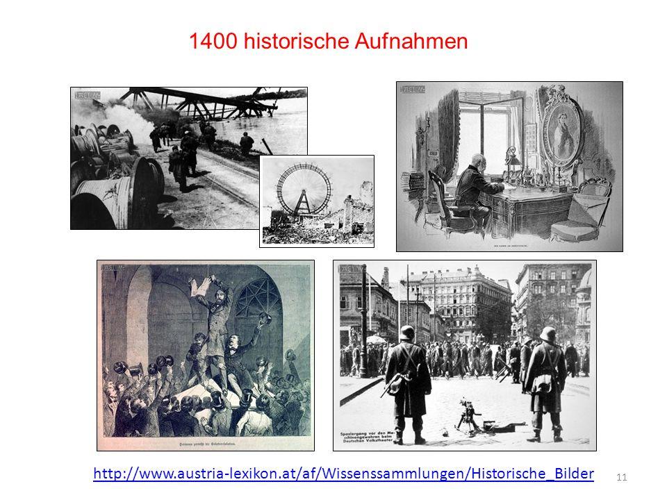 1400 historische Aufnahmen