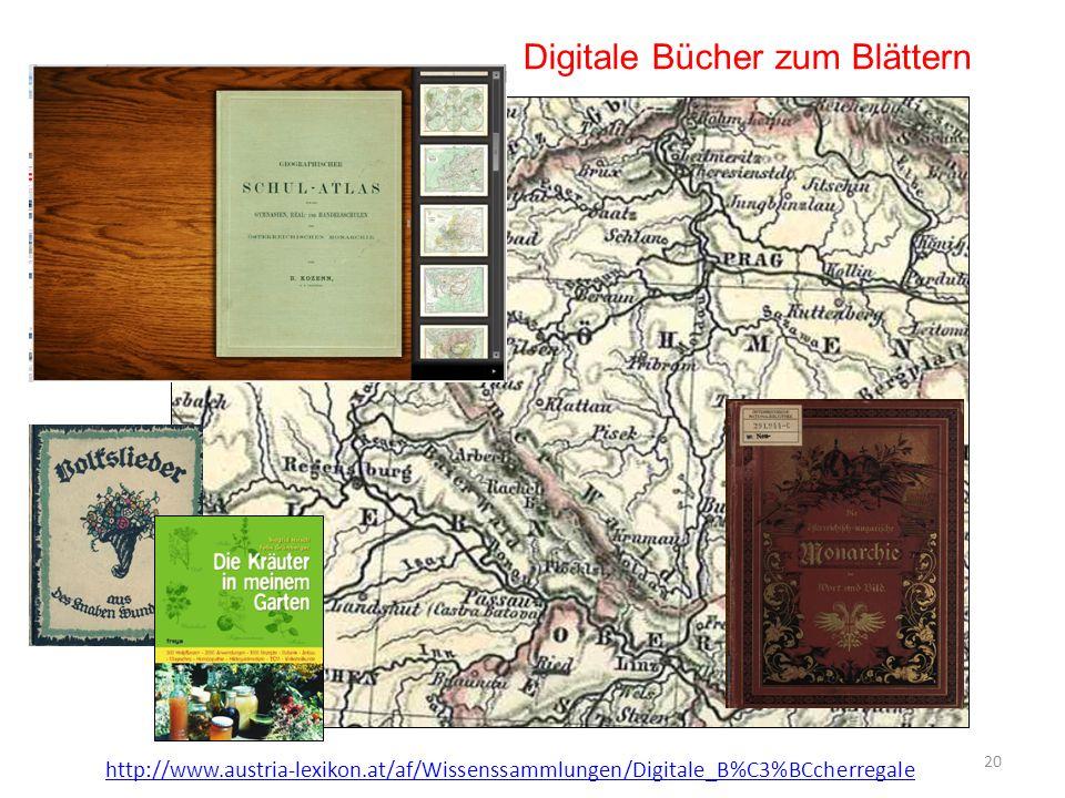 Digitale Bücher zum Blättern