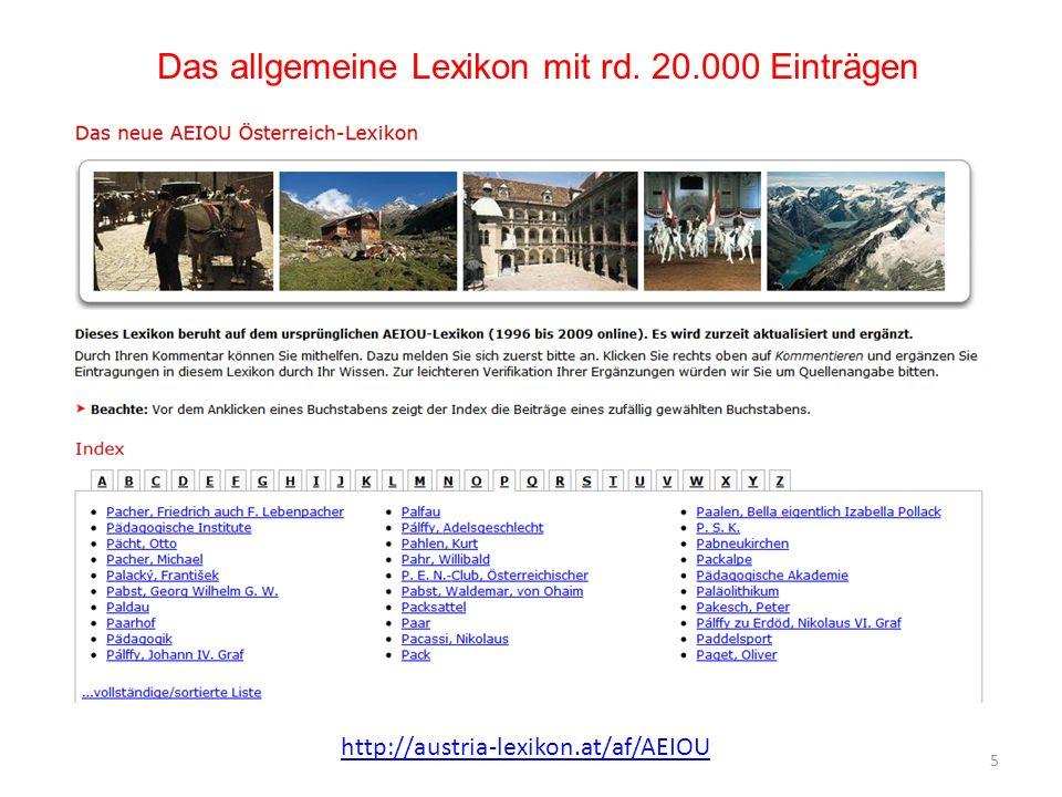 Das allgemeine Lexikon mit rd. 20.000 Einträgen
