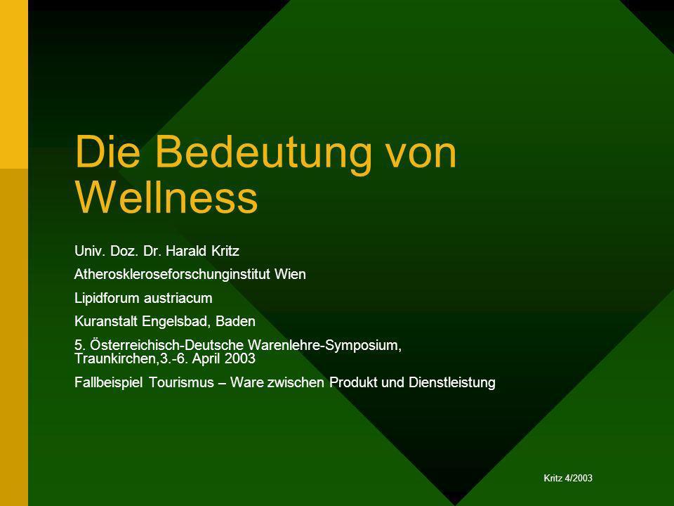 Die Bedeutung von Wellness