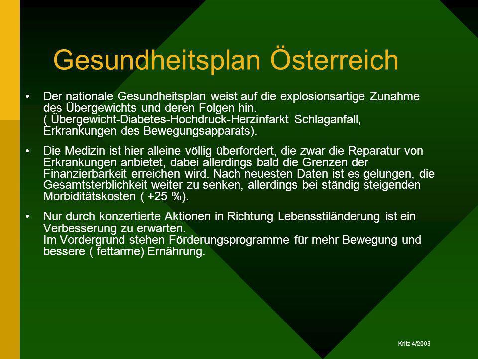Gesundheitsplan Österreich