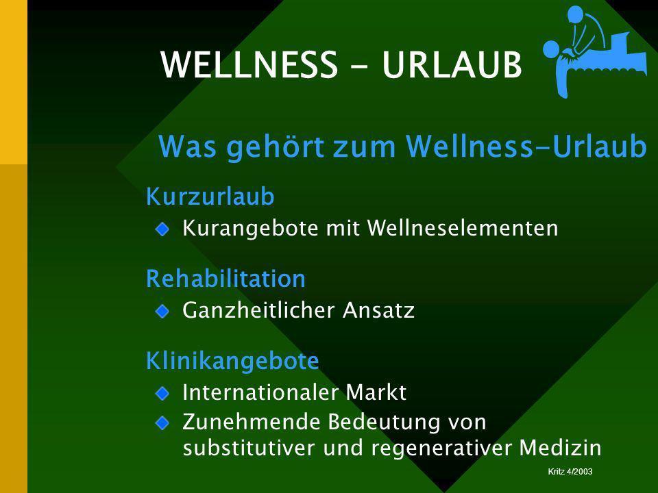 WELLNESS - URLAUB Was gehört zum Wellness-Urlaub Kurzurlaub