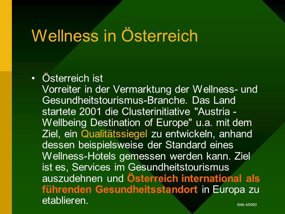 Wellness in Österreich