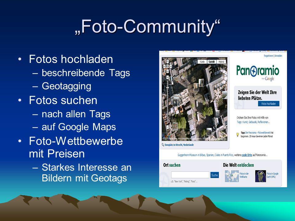 """Foto-Community Fotos hochladen Fotos suchen"