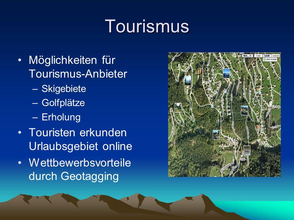 Tourismus Möglichkeiten für Tourismus-Anbieter