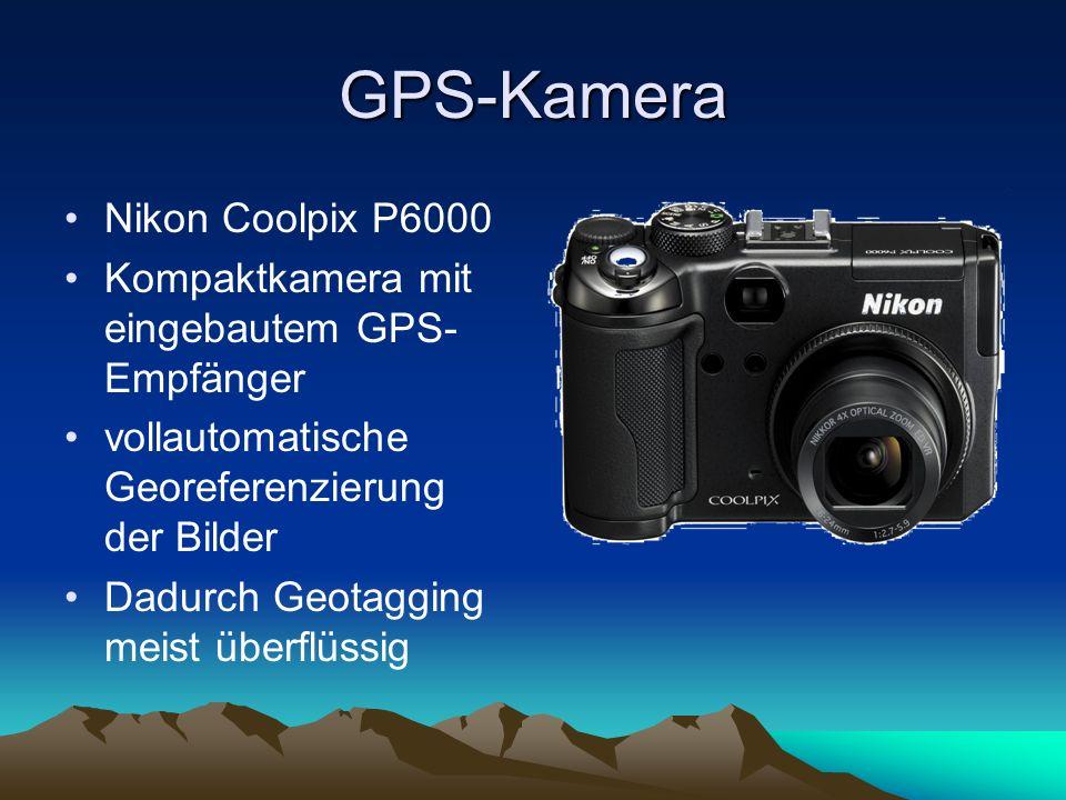 GPS-Kamera Nikon Coolpix P6000