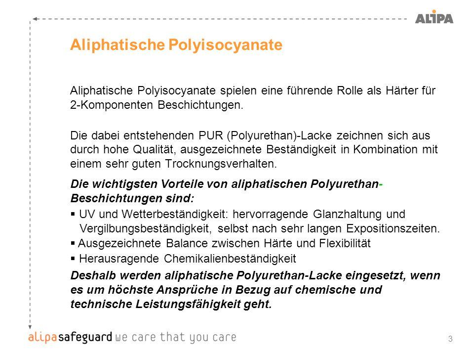 Aliphatische Polyisocyanate