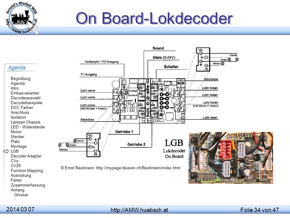 On Board-Lokdecoder  2014 03 07 http://AMW.huebsch.at