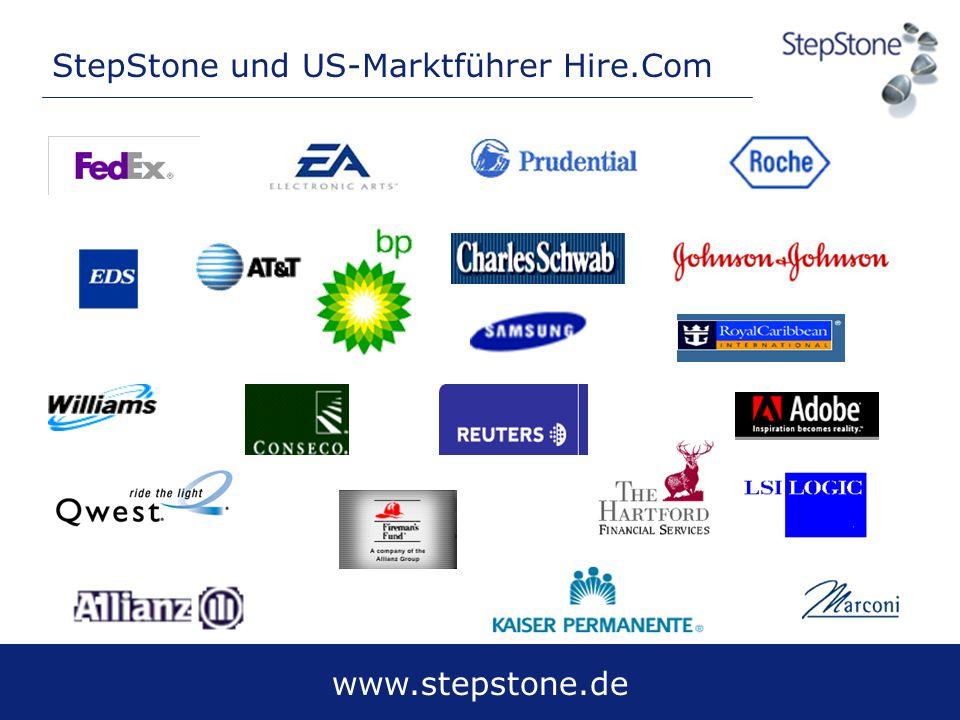 StepStone und US-Marktführer Hire.Com