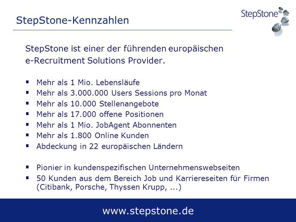 StepStone-Kennzahlen