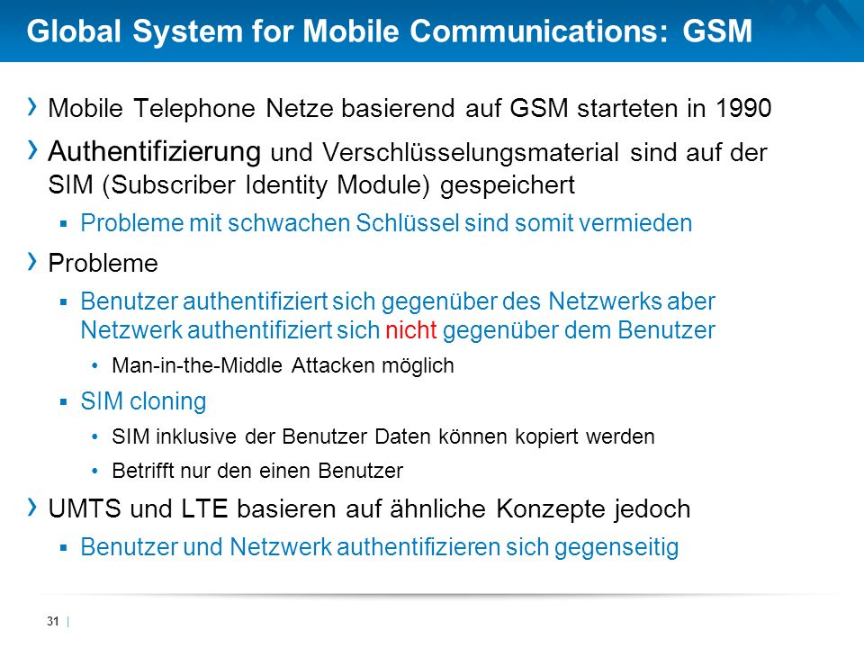 Global System for Mobile Communications: GSM