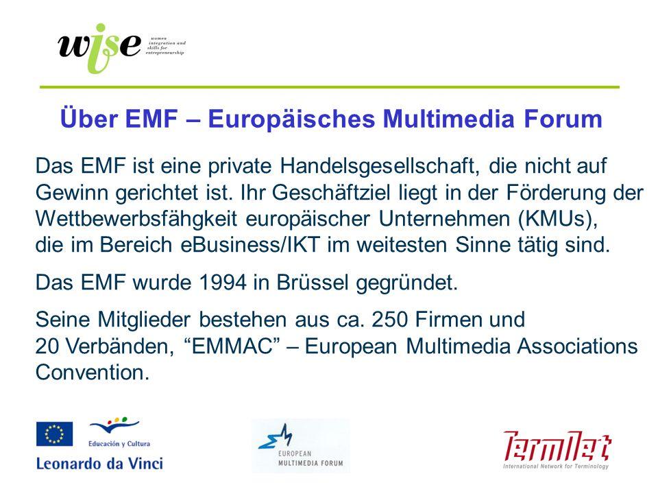 Über EMF – Europäisches Multimedia Forum