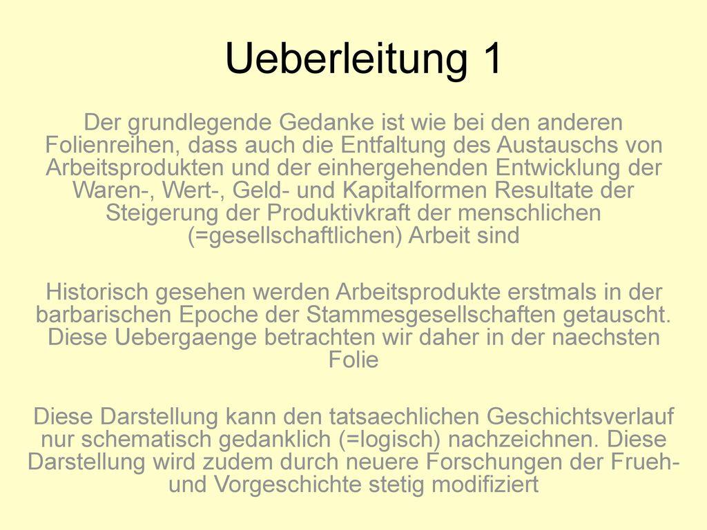 Ueberleitung 1