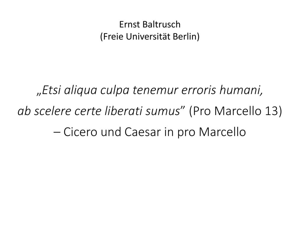 """Etsi aliqua culpa tenemur erroris humani,"