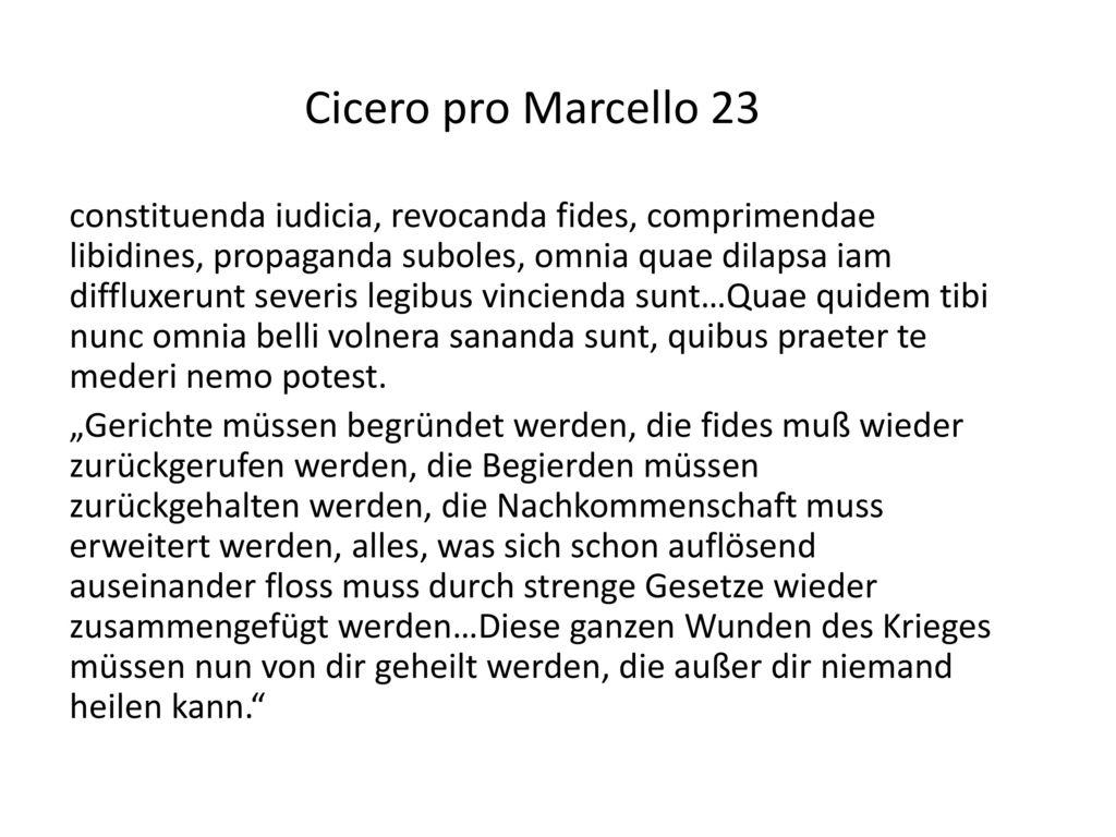 Cicero pro Marcello 23