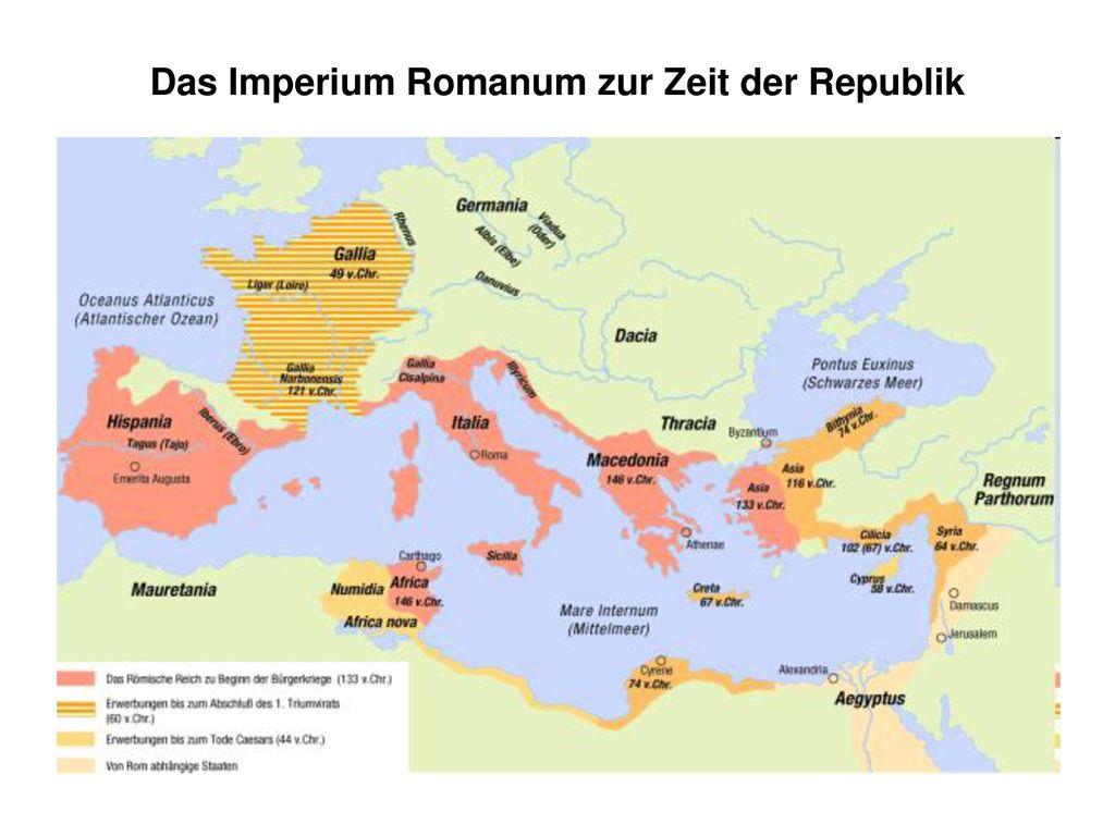 Das Imperium Romanum zur Zeit der Republik