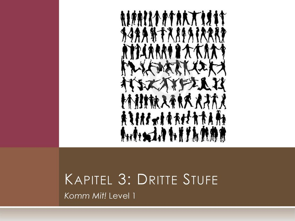 Kapitel 3: Dritte Stufe Komm Mit! Level 1