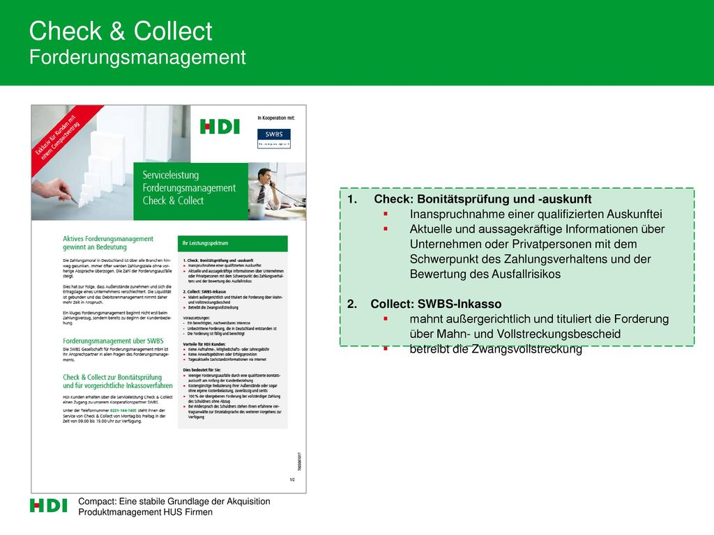 Check & Collect Forderungsmanagement