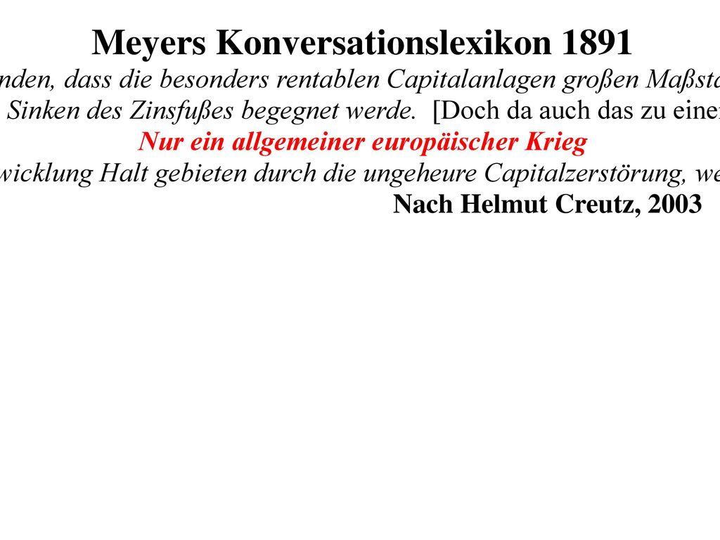 H. Creutz, Das Geldsyndrom