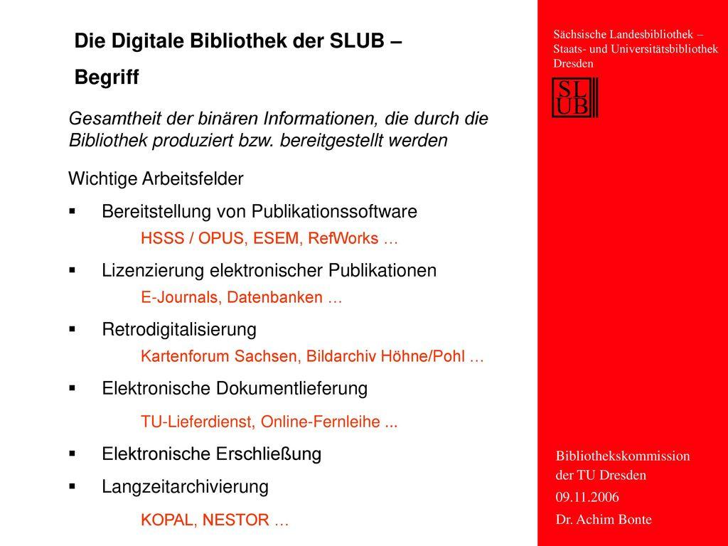 Die Digitale Bibliothek der SLUB – Begriff