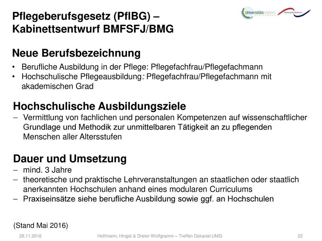 Hoffmann, Hingst & Dreier-Wolfgramm – Treffen Dekanat UMG