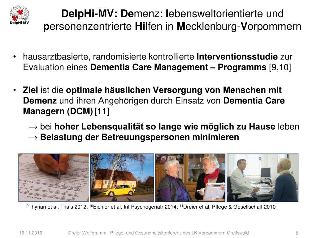 DelpHi-MV: Demenz: lebensweltorientierte und