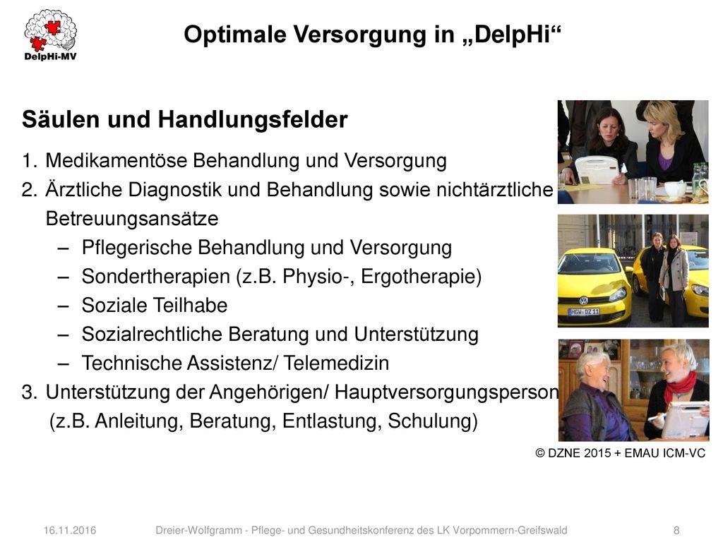 "Optimale Versorgung in ""DelpHi"