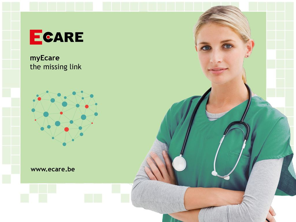myEcare the missing link www.ecare.be